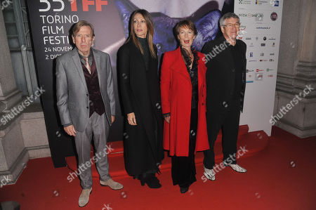 Timothy Spall, Laura Milani, Celia Imrie and Richard Loncraine