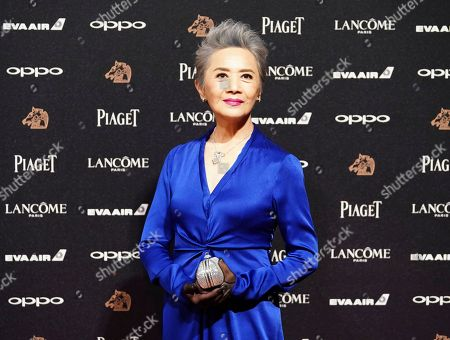 "U.S actress Deanie Ip arrives at the 54th Golden Horse Awards in Taipei, Taiwan, . Ip is nominated for Best Supporting Actress for the film ""Our Time Will Come"" at this year's Golden Horse Awards -one of the Chinese-language film industry's biggest annual events"
