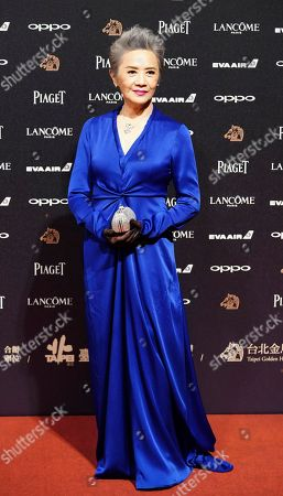 "Stock Picture of U.S actress Deanie Ip arrives at the 54th Golden Horse Awards in Taipei, Taiwan, . Ip is nominated for Best Supporting Actress for the film ""Our Time Will Come"" at this year's Golden Horse Awards -one of the Chinese-language film industry's biggest annual events"