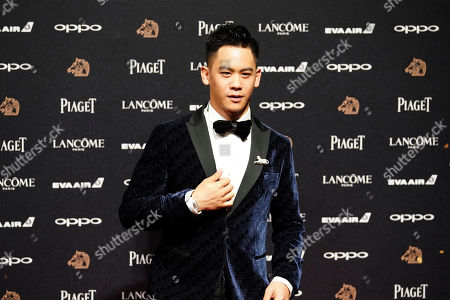 """Taiwanese American actor Mason Lee arrives at the 54th Golden Horse Awards in Taipei, Taiwan, . Lee is nominated for Best Supporting Actor for the film """"Who Killed Cock Robin"""" at this year's Golden Horse Awards -one of the Chinese-language film industry's biggest annual events"""