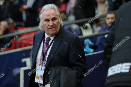 West Brom First Team Coach, Gerry Francis during Tottenham Hotspur vs West Bromwich Albion, Premier League Football at Wembley Stadium on 25th November 2017