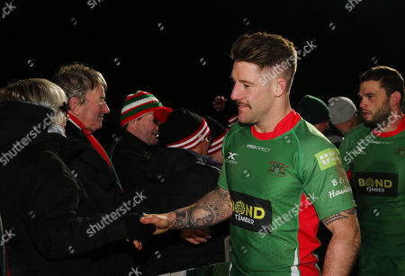 Editorial photo of Coventry v Plymouth Albion, UK 25th Nov 2017