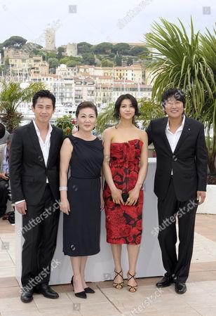 Shin Ha-Kyun, Kim Hae-Sook, Kim Ok-Bin and Song Kang-Ho