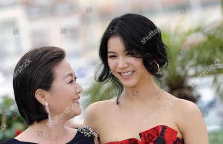 Kim Hae Sook and Kim Ok-Bin
