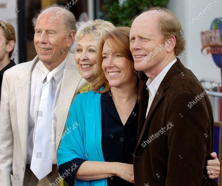 "Rance Howard, Jean Speegle Howard, Cheryl Howard, Ron Howard. Ron Howard, far right, director of the new film ""Cinderella Man,"" poses with his wife Cheryl, second from right, and his parents, actor/director Rance Howard and actress Jean Speegle Howard, at the premiere of the film in the Universal City section of Los Angeles. Director Ron Howard says his actor father Rance Howard has died at age 89. Howard announced his father's passing, on Twitter. He praised his father for his ability to balance ambition with great personal integrity"