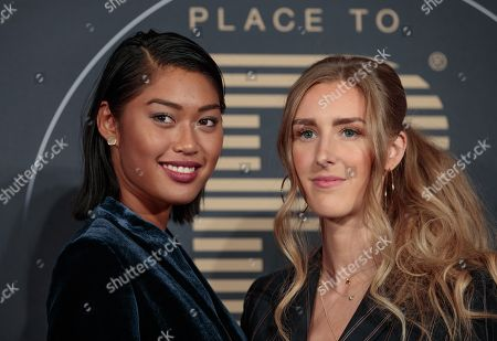 Anuthida Ploypetch and Leslie Huhn