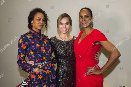 Milka Loff Fernandes, Ilka Groenewold and Barbara Becker