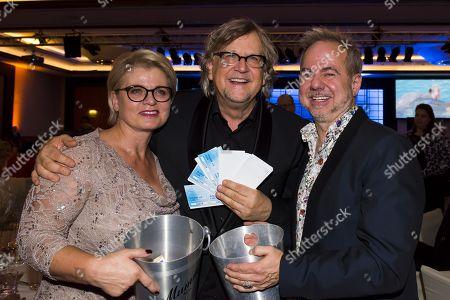 Andrea Spatzek, Martin Krug and Helmut Zerlett