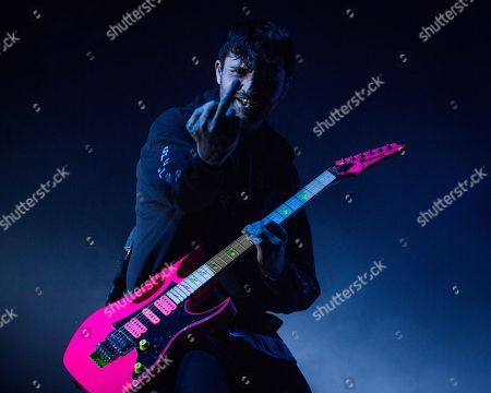 Stock Photo of Lower Than Atlantis - Mike Duce