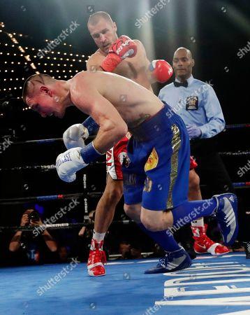 Editorial photo of Kovalev Shabranskyy Boxing, New York, USA - 26 Nov 2017