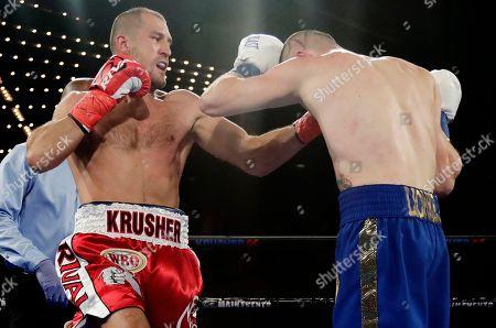 Editorial picture of Kovalev Shabranskyy Boxing, New York, USA - 26 Nov 2017
