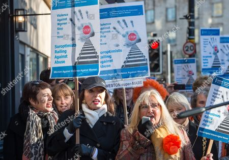 Editorial picture of Rally against domestic violence, Bristol, UK - 25 Nov 2017