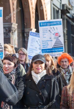 Editorial photo of Rally against domestic violence, Bristol, UK - 25 Nov 2017