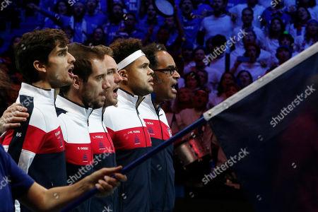 Editorial image of Tennis Davis Cup Final, Lille, France - 26 Nov 2017
