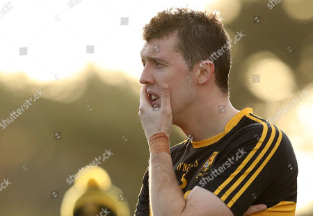 Nemo Rangers vs Dr. Crokes. Dr Crokes Michael Moloney dejected after the game