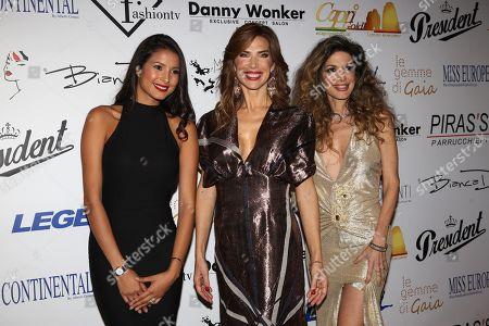 Stock Picture of Mariana Rodriguez, Veronica Maya, Maria Monsa