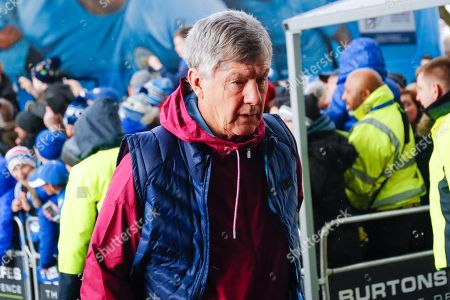 Manchester City Assistant Brian Kidd arrives during the Premier League match between Huddersfield Town and Manchester City at the John Smiths Stadium, Huddersfield