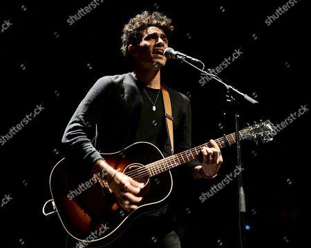 Editorial photo of Marc Scibilia in concert, The Fillmore, Miami Beach, Florida, USA - 25 Nov 2017
