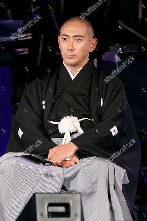 Japanese kabuki star Ichikawa Ebizo