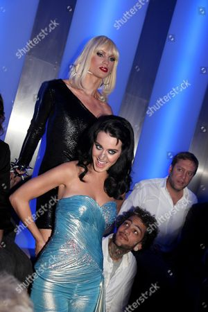 Katy Perry , Phillipe Blond, Travis McCoy