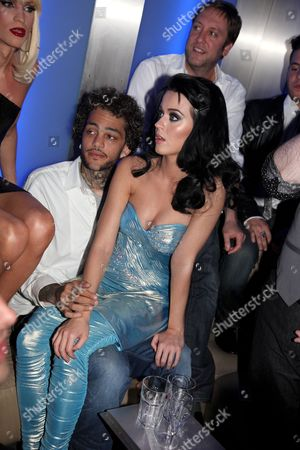 Travis McCoy and Katy Perry