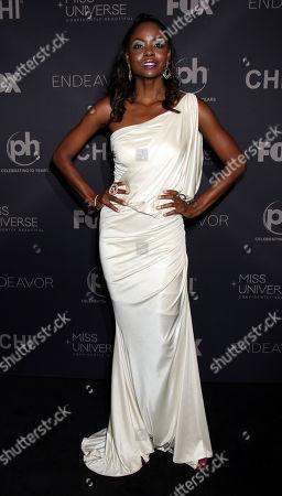 Editorial photo of Miss Universe, Arrivals, Las Vegas, USA - 26 Nov 2017
