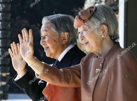 Grand Duke Henri and Emperor Akihito