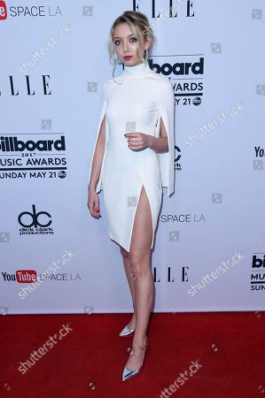 "Hana Hayes attends the ""2017 Billboard Music Awards"" and ELLE Present Women in Music at YouTube Space LA, in Los Angeles"