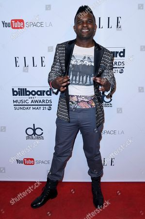 "Darius McCrary attends the ""2017 Billboard Music Awards"" and ELLE Present Women in Music at YouTube Space LA, in Los Angeles"
