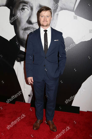 """Steven Boyer attends the Broadway opening night of """"Present Laughter"""" at the St. James Theatre, in New York"""