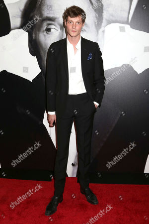 """Stock Photo of Matt Hitt attends the Broadway opening night of """"Present Laughter"""" at the St. James Theatre, in New York"""