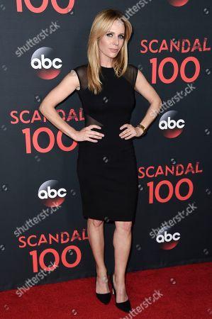 """Jessalyn Gilsig attends the """"Scandal"""" 100th Episode Celebration at Fig & Olive, in West Hollywood, Calif"""