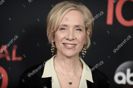 """Betsy Beers attends the """"Scandal"""" 100th Episode Celebration at Fig & Olive, in West Hollywood, Calif"""