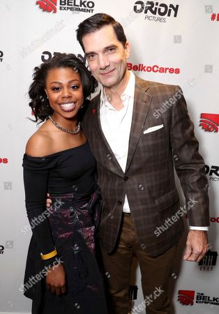 """Editorial image of """"The Belko Experiment"""" Special Screening, Los Angeles, USA - 3 Mar 2017"""