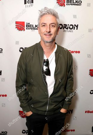 Greg McLean attending the Employee Appreciation Day Screening of THE BELKO EXPERIMENT at The Aero Theater in Los Angeles