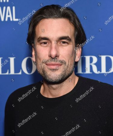 "Stock Photo of Director Alexandre Moors attends ""The Yellow Birds"" cast party at Chase Sapphire on Main on in Park City, Utah"