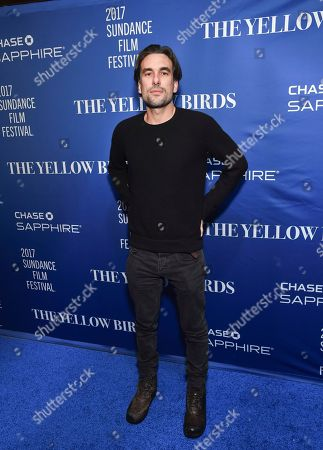 "Director Alexandre Moors attends ""The Yellow Birds"" cast party at Chase Sapphire on Main on in Park City, Utah"