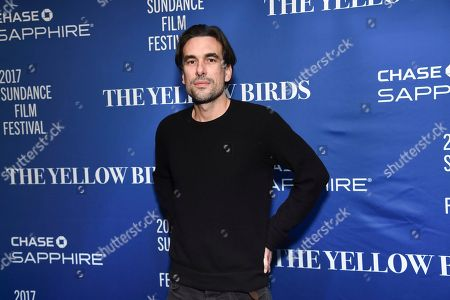 "Stock Image of Director Alexandre Moors attends ""The Yellow Birds"" cast party at Chase Sapphire on Main on in Park City, Utah"
