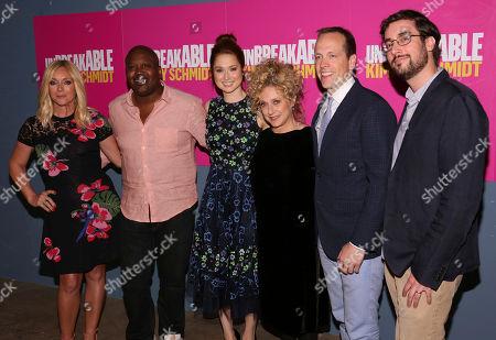 "Jane Krakowski, Tituss Burgess, Ellie Kemper, Carol Kane, Robert Carlock and Sam Means arrive at the Unbreakable Kimmy Schmidt"" FYC Event on Thursday, June15, 2017, in Los Angeles"