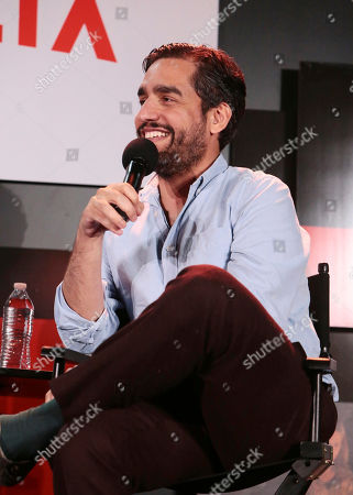 Zal Batmanglij at 'The OA' panel Q&A at Netflix FYSee exhibit space, in Los Angeles, CA