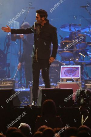 """Artist Chuck Wicks performs at """"1 Night. 1 Place. 1 Time.: A Heroes and Friends Tribute to Randy Travis"""" at Bridgestone Arena on in Nashville, Tenn"""