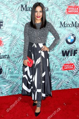 Stock Picture of Priyanka Bose arrives at the 10th Annual Women in Film Pre-Oscar Cocktail Party at Nightingale Plaza, in Los Angeles