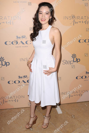 Jessika Van arrives at the 14th Annual Inspiration Awards at The Beverly Hilton, in Beverly Hills, Calif
