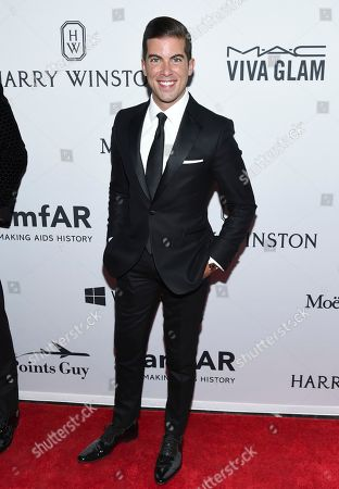 Stock Photo of Luis D. Ortiz attends the amfAR Inspiration Gala honoring Naomi Campbell and Kim Jones at Moynihan Station, in New York