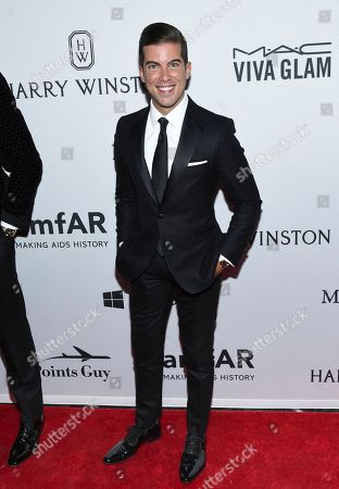 Stock Image of Luis D. Ortiz attends the amfAR Inspiration Gala honoring Naomi Campbell and Kim Jones at Moynihan Station, in New York