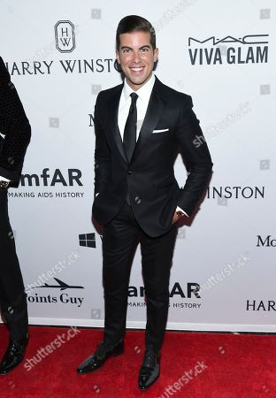 Luis D. Ortiz attends the amfAR Inspiration Gala honoring Naomi Campbell and Kim Jones at Moynihan Station, in New York