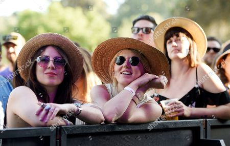 Festival attendees watch Charles Bradley & His Extraordinaires perform on day one of the inaugural 2017 Arroyo Seco Music Festival, in Pasadena, Calif