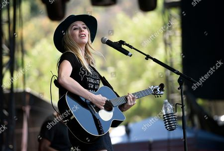 ZZ Ward performs during day two of the inaugural 2017 Arroyo Seco Music Festival, in Pasadena, Calif