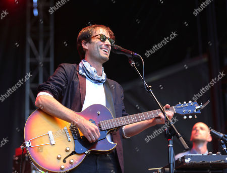Andrew Bird performs on day two of the inaugural 2017 Arroyo Seco Music Festival, in Pasadena, Calif