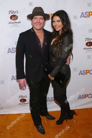 Singer/songwriter Jerrod Niemann, left, and guest attend the 20th Annual ASPCA Bergh Ball and After Dark Party at The Plaza Hotel, in New York